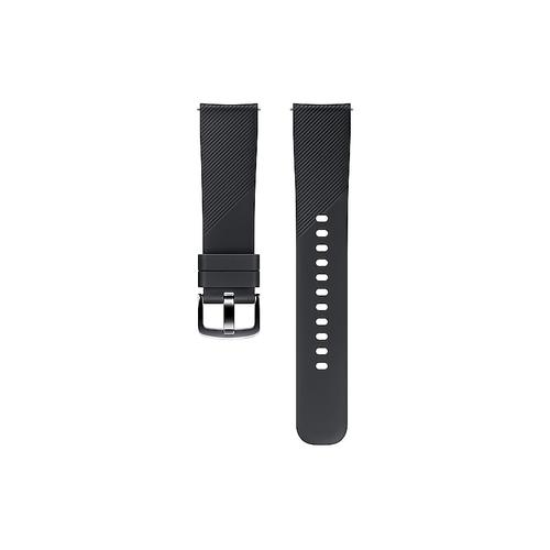 Silicone Band (20mm) Black