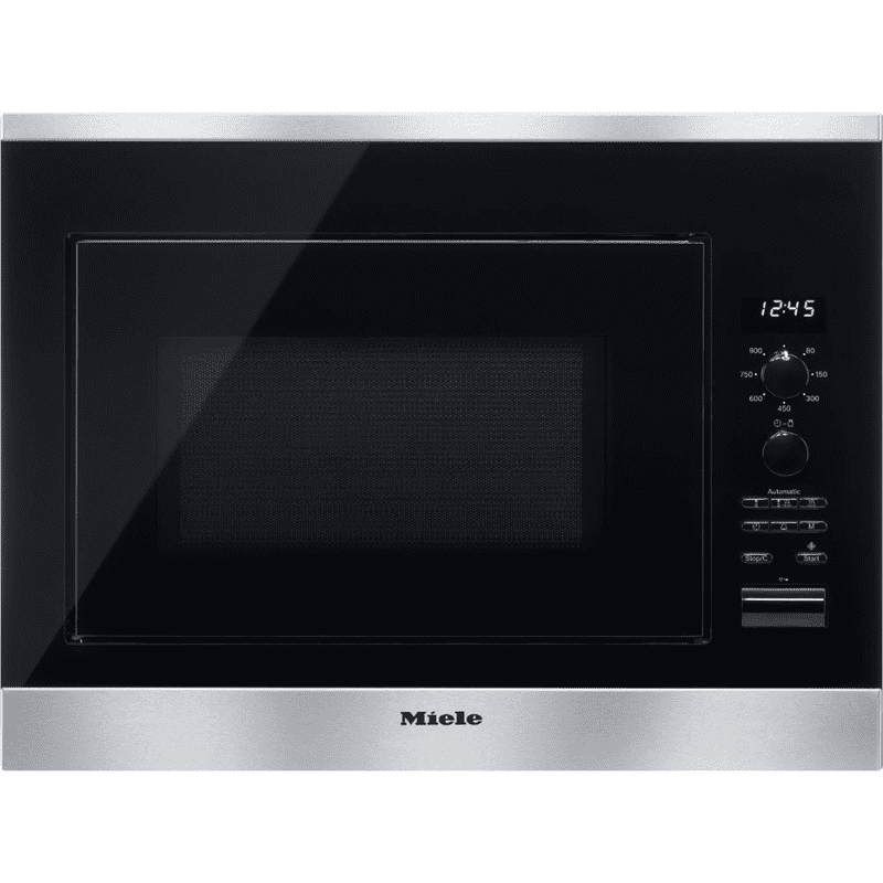 Built-in microwave oven with automatic programs for perfect results.