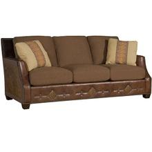 Santiago Leather/Fabric Sofa