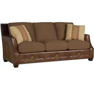 Santiago Leather/Fabric Sofa