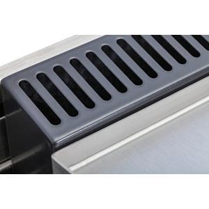 40 Inch Matte Graphite Dual Fuel Natural Gas Freestanding Range