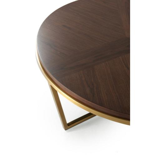 Small Fisher Round Cocktail Table