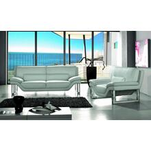 Divani Casa New York - Modern White Leather Sofa Set