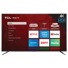 "TCL 75"" Class 4-Series 4K UHD HDR Roku Smart TV - 75S425"