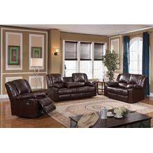 8031 Brown Reclining Loveseat