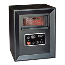 CZ2011P Quartz Infrared Electric Cabinet Heater, Black