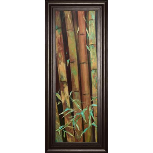 """""""Bamboo Finale I"""" By Suzanne Wilkins Framed Print Wall Art"""