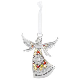 Angel Ornament - Blessings are all around us
