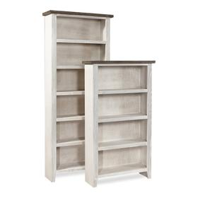 "74"" Bookcase w/ 4 fixed shelves"