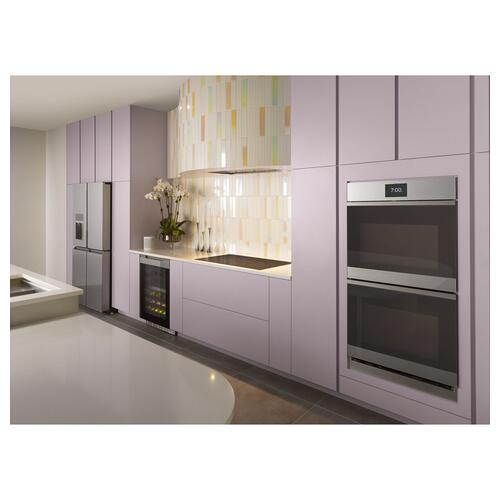 Cafe - Café™ Smart Stainless Steel Interior Dishwasher with Sanitize and Ultra Wash & Dual Convection Ultra Dry in Platinum Glass
