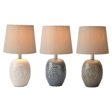 Embossed Flower Accent Lamp. 40W Max. (3 pc. ppk.)