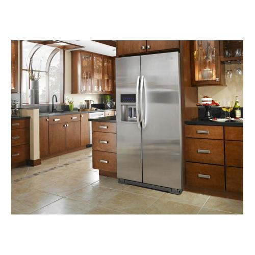 Product Image - KitchenAid 24 Cu. Ft. Counter-Depth Side-by-Side Refrigerator, Pro Line Series - Stainless Steel