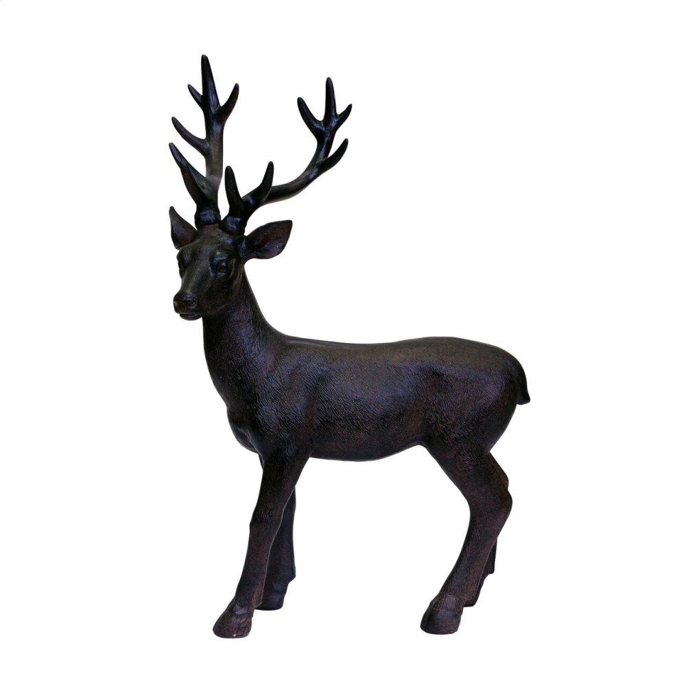 Brown Resin Deer, Standing