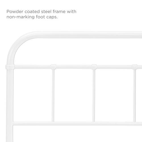 Modway - Serena Twin Steel Headboard in White