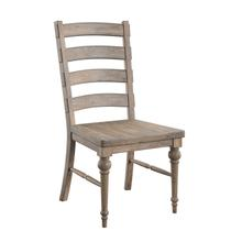 Interlude Ladderback Dining Chair, Sandstone Buff D560-21-05