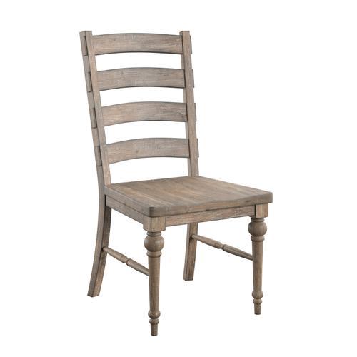 Interlude Ladderback Dining Chair, Sandstone Buff D560-21-05