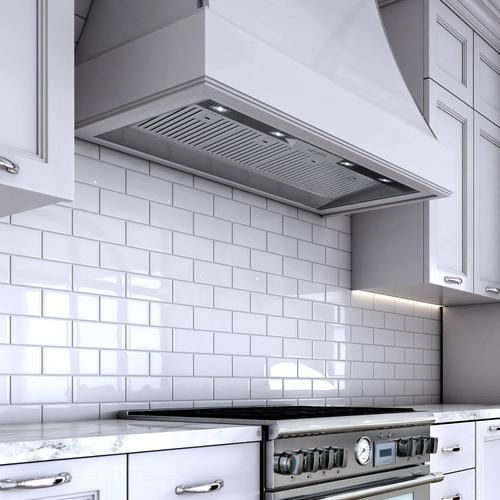"""XO Appliance - 48"""" 1000 CFM Insert Hood Liner Stainless"""