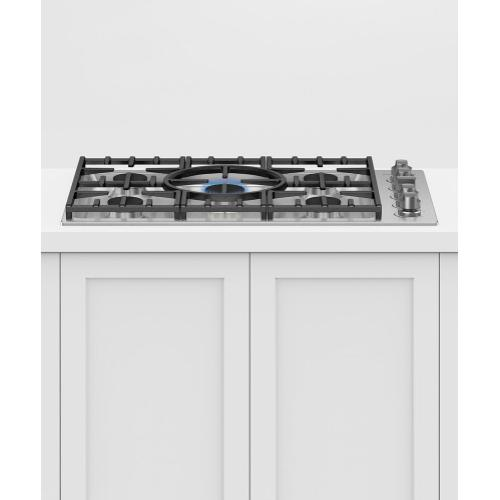 """Fisher & Paykel - Gas Cooktop, 36"""""""