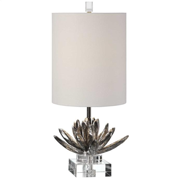 Uttermost - Silver Lotus Accent Lamp