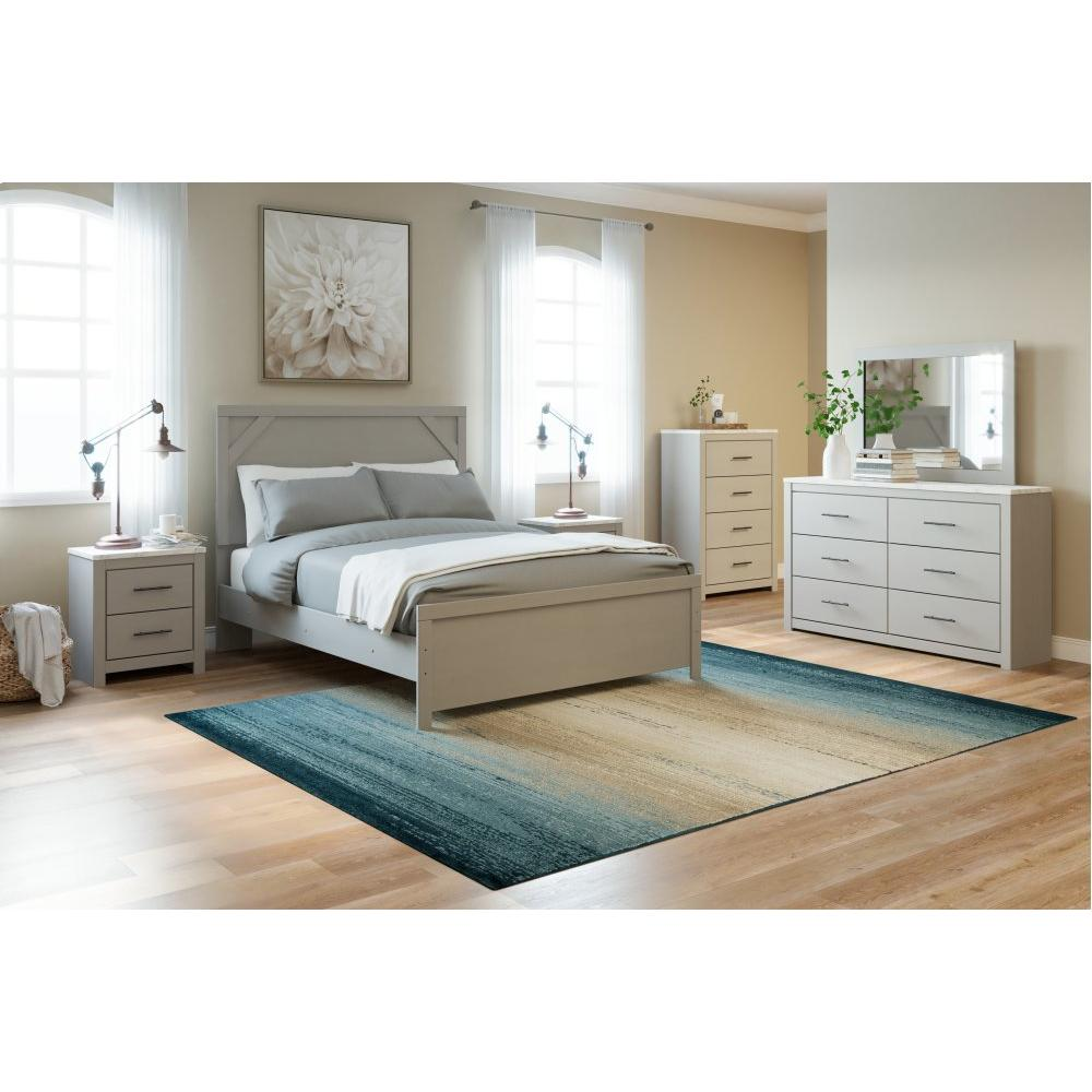 Cottonburg Queen Panel Bed