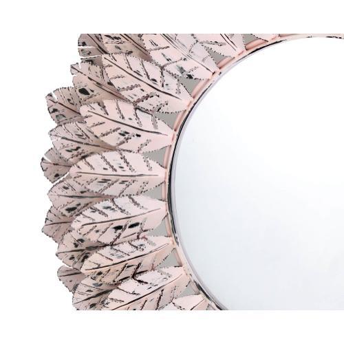 Tov Furniture - Pile Pink Distressed Mirror