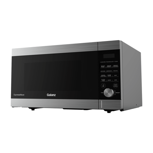 """Galanz 1.6 Cu Ft ExpressWave"""" Sensor Cooking Microwave Oven with an easy-to-use Express Cooking Knob in Stainless Steel"""