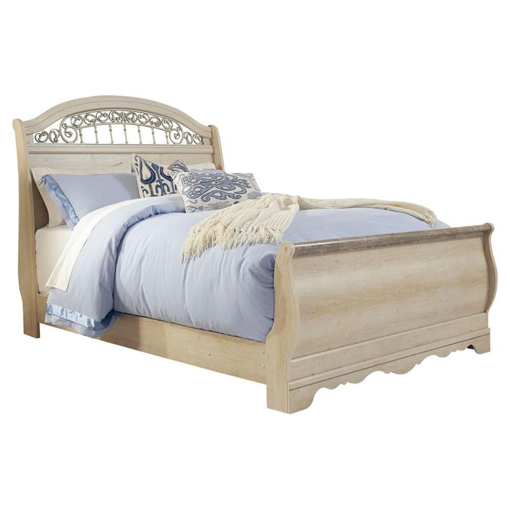 Catalina Queen Sleigh Bed