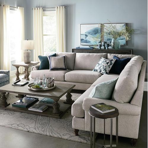 Bassett Furniture - Hunter Large L-Shaped Sectional