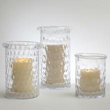 Honeycomb Hurricane Vase-Med