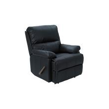 REC-516B Pisa Black Leather Recliner