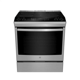 """GE Profile 30"""" Slide-In Self-Clean Induction Range with WiFi Stainless Steel - PCHS920YMFS"""