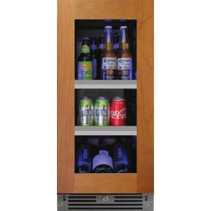 XO APPLIANCE15in Beverage Center Overlay Glass LH
