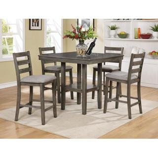 Tahoe Counter Height 5-piece Set Gray