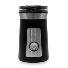 Kalorik Coffee and Spice Grinder, Black and Stainless Steel