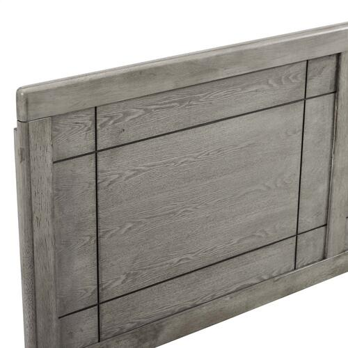 Archie Twin Wood Headboard in Gray