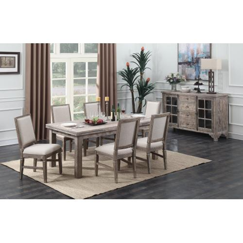 Emerald Home Square Back Dining Chair D561-20-05