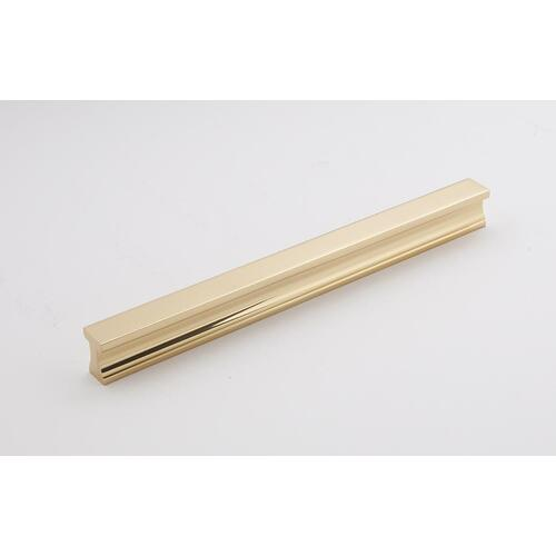 "LINEAR 8"" TAB PULL A965-8 - Unlacquered Brass"