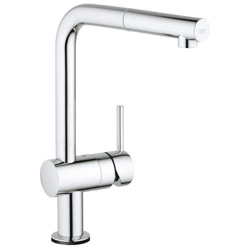 Minta Single-handle Pull-out Kitchen Faucet Single Spray 1.75 Gpm With Touch Technology