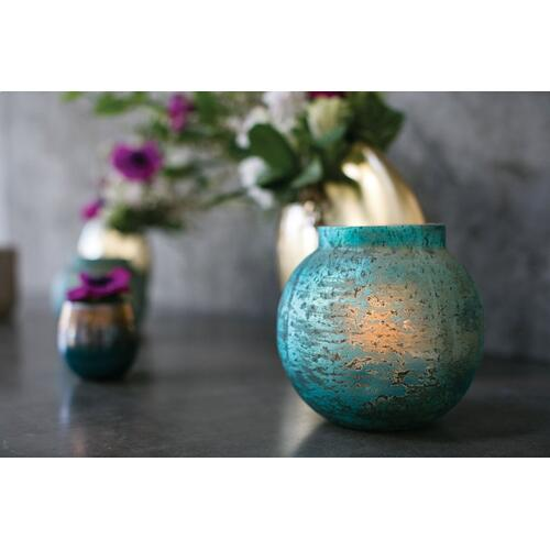 7.25'' x 7'' Icy Candleholder