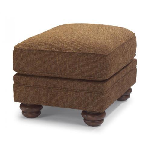 Flexsteel - Bexley One-Tone Fabric Ottoman