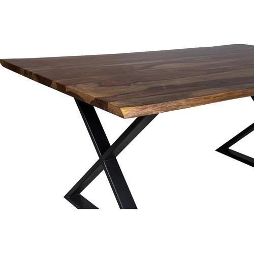 """Porter International Designs - Manzanita Harvest 82"""" Dining Table with Different Bases, VCS-DT82H"""