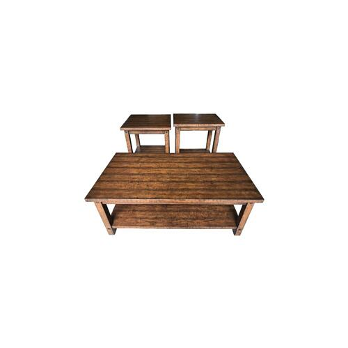 Gallery - Cocktail Table & 2 End Tables
