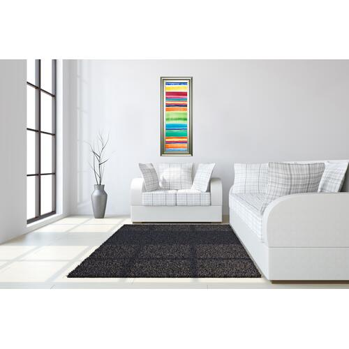 "Classy Art - ""Cabana Panel I"" By Regina Moore Framed Print Wall Art"