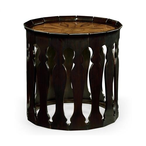 Moorish sofa table (Ebonised)