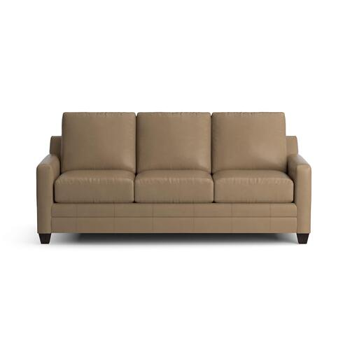 See Details - Carolina Leather Thin Track Arm Queen Sleeper