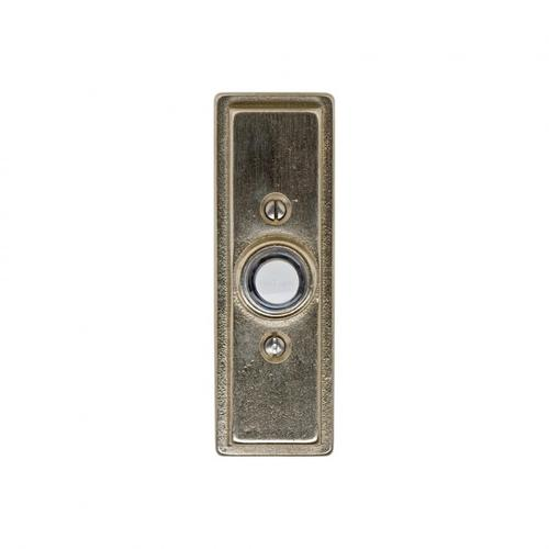 Rocky Mountain Hardware - Stepped Doorbell Button Silicon Bronze Brushed