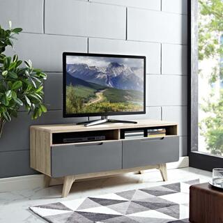 """See Details - Origin 47"""" TV Stand in Natural Gray"""
