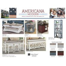 AMERICANA MODERN - COTTON Cocktail Table