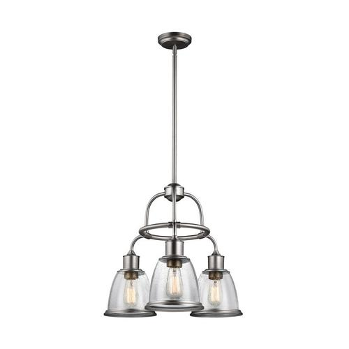 Hobson Chandelier Satin Nickel