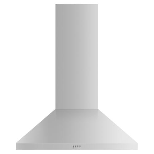 "Gallery - Wall Range Hood, 36"", Pyramid Chimney"